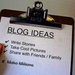 Zakaj postaviti blog?