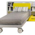 Zložljiva postelja za otroke je zakon
