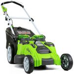 Ocena akumulatorske kosilnice Greenworks 40V Twin Force 25302